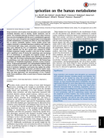 Effect of Sleep Deprivation on the Human Metabolome