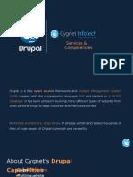 Cygnet -Drupal Portfolio