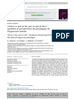 """Do as I say, not as I do""""- Synthesis and perspectives on the induced hypocrisy paradigm A. Liégeois a , O. Codou c , L. Rubens d , D. Priol.pdf"""