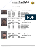 Peoria County Jail Booking Sheet for Aug. 5, 2016
