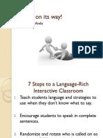teacher copy helps on its way