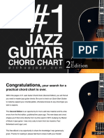 1 Jazz Guitar Chord Chart 2nd Edition