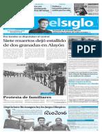 Edición Impresa Elsiglo 05-08-2016