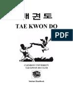 Martial Arts Student Handbook