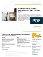 Sap Customer Success Profile Contitech More Time for Customers With Sap Cloud for Sales