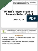 Projeto Lógico de Banco de Dados