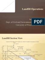 427-Construction and Operation Principles in Landfilling