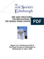 FIRE and STRUCTURES the Implications of WTC Disaster