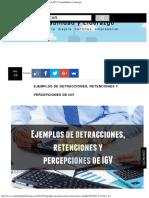 Ejemplos de detracciones, retenciones y percepciones de IGV  Contabilidad y Lid.pdf