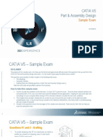 CATIA V5 Part and Assembly_Sample Exam