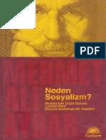 Mehmet Ali Aybar. Neden Sosyalizm?