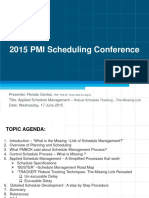Applied Schedule Management - Santos