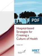 HRET Hospital Strategies for Creating Culture of Health