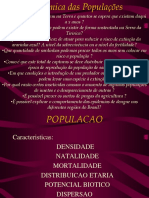 Dinamica Das Populacoes - PH
