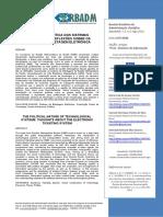 Mello Et Al a Natureza Política Dos Sistemas Tecnológicos Reflexões (2012)