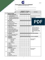 UP N01 - Senarai Semak Portfolio Internship