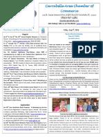 Carrabelle Chamber of Commerce E-Newsletter for August 5th