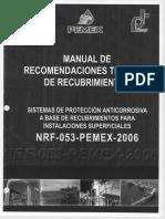 Manual d Recomendaciones Recubrimientos