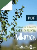 PROYECTO DE MEJORAMIENTO PAISAJISTICO BARRIO NUEVA VILLARRICA