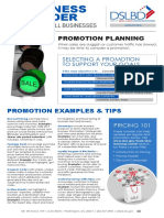 Planning Promotion Business Builder 201607
