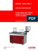 USTER AFIS PRO 2 The fiber process control system