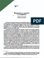 Coronel pensando la tradición y la diferencia.pdf