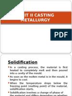 UNIT II CASTING METALLURGY.pptx