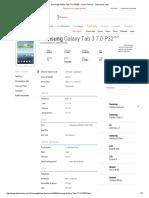 Samsung Galaxy Tab 3 7.0 P3200 - Ficha Técnica - Tudocelular