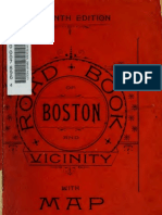 (1893) Road Book of Boston and Vicinity for Bicycles, Riders, and Drivers