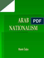 Arab nationalism marek