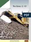 Extec C10 Crushing Plant