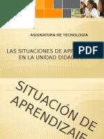 8 Las Situaciones de Aprendizaje en La UD