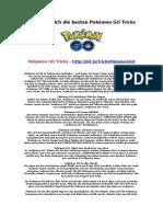 Pokemon GO Tricks Holen Sie Sich Die Besten