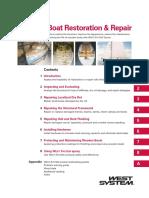 Wooden Boat Restoration and Repair