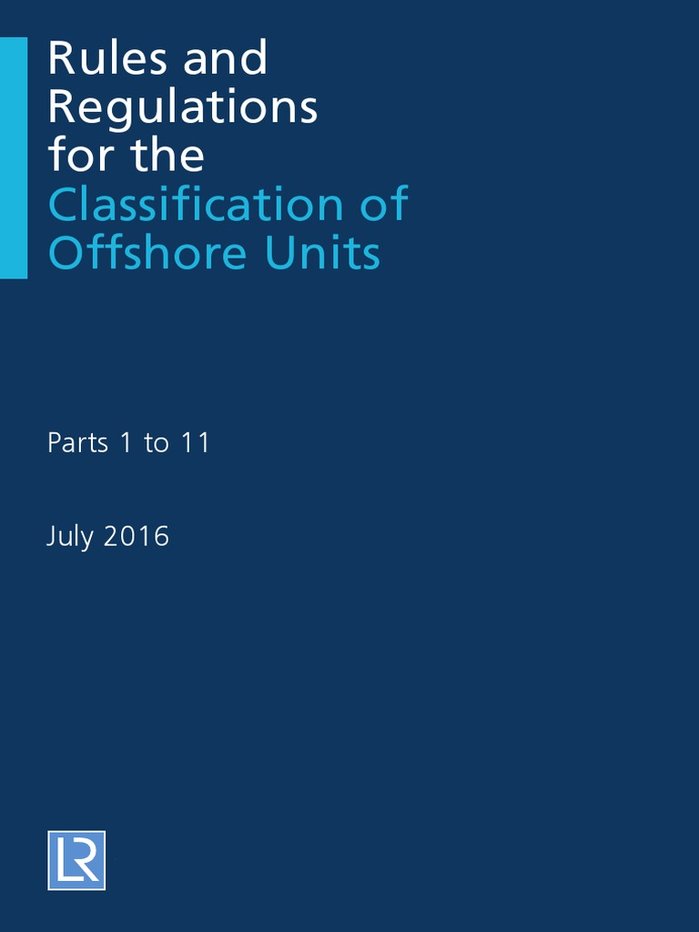 Lloyds Register - Rules and Regulations for the Classification of Offshore Units Part 1-11  sc 1 st  Scribd : as3000 wiring rules free download - yogabreezes.com