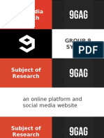 Mass Media Research - 9GAG