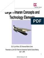 Large Trimaran Concepts Tech Elements