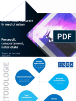 IRES_Sondaj_Evenimente Culturale in Mediul Urban_Raport de Cercetare