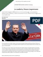 Turquía_ Presente Sombrío, Futuro Inquietante _ Nueva Sociedad