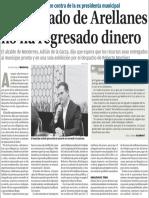 05-08-16 Ex abogado de Arellanes no ha regresado dinero