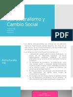 Estructuralismo y Cambio Social