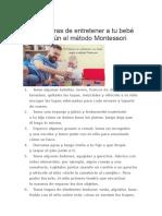 30 Maneras de entretener a tu bebé según el método Montessori.doc