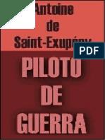 Saint éxupery - Piloto de Guerra