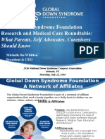 Global Down Syndrome Foundation Research and Medical Care Roundtable