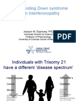 Understanding Down Syndrome as an Interferonopathy