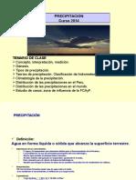 Clase Precipitación 20134