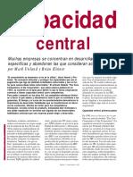 Gestion Prahalad Capacidad Central 1997