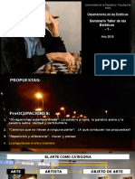 CONSIGNA SECUENCIA AUDIOVISUAL SEMINARIO uno 2016 .pptx