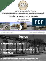 Diseño Estructural de Pavimentos Rígidos