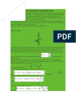 formulas para calcular transistores.docx